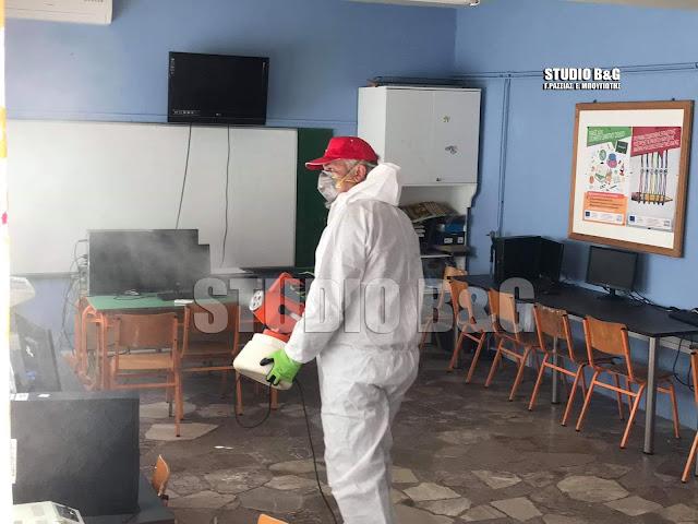 Ξεκίνησαν οι απολυμάνσεις σχολικών μονάδων στο Δήμο Άργους Μυκηνών