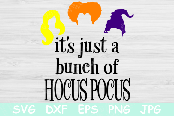 Halloween Hocus Pocus Graphic