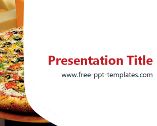 Pizza PPT Template | Free PowerPoint Templates