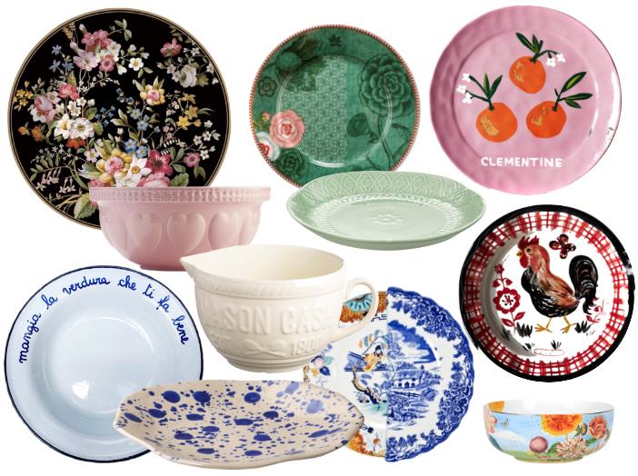 dove trovare piatti porcellane e ceramiche belle vita