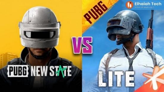 أهم الاختلافات بين لعبة ببجي موبايل لايت ولعبة PUBG New State القادمة :: 2021