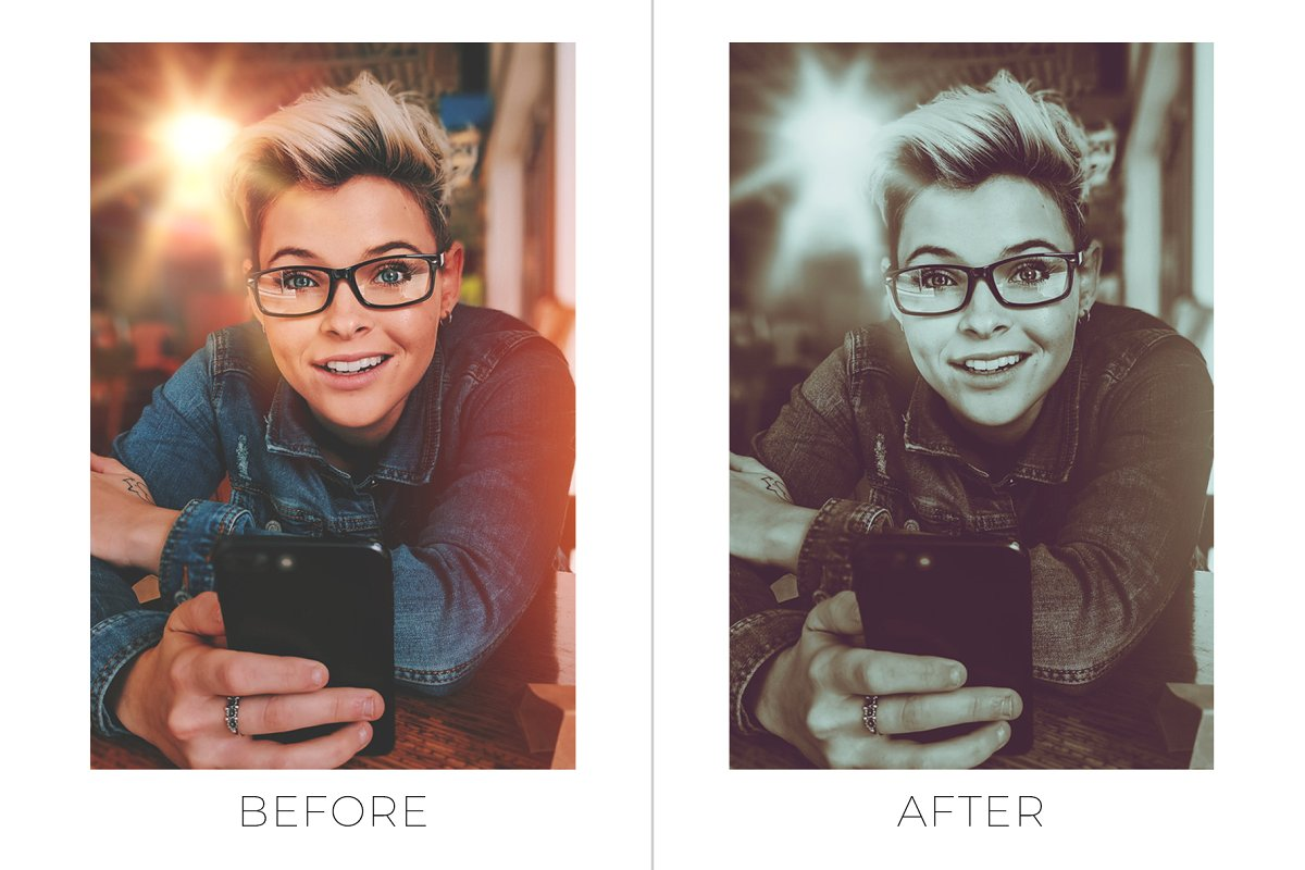 Photoshop Actions: 25 Lifestyle Photoshop Actions (ATN)