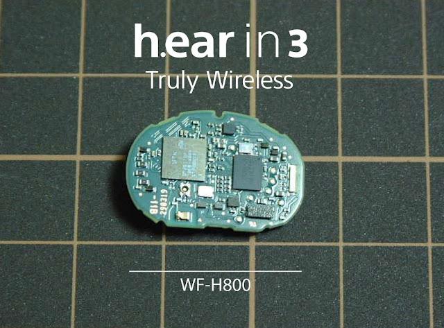 Sony WF-H800 h.ear in 3