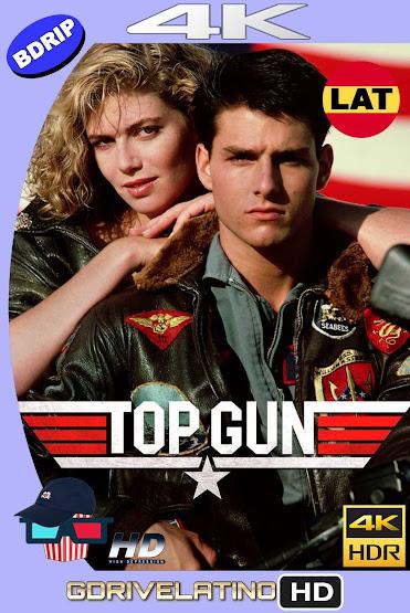 Top Gun: Pasión y Gloria (1986) BDRip 4K HDR Latino-Ingles MKV
