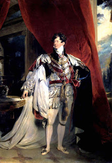 Portrait of George IV of England, created circa 1816 by Thomas Lawrence