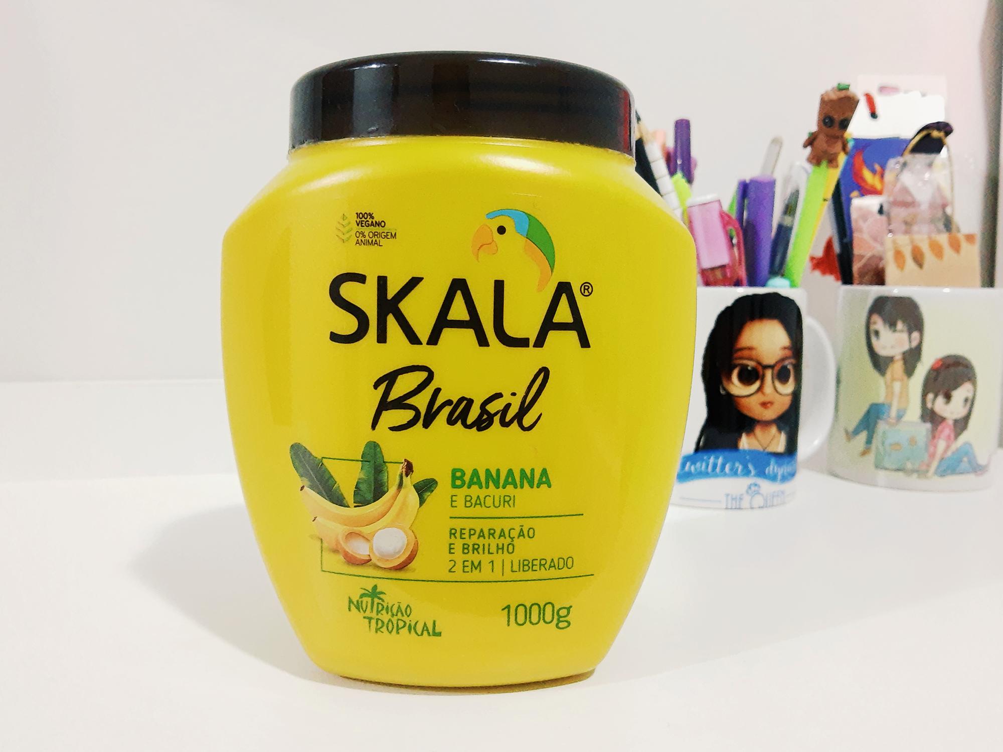 Creme Skala Brasil Banana e Bacuri