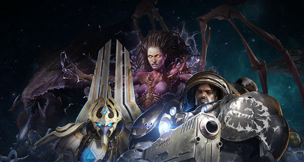 Zergs, Terranos y Protoss en Starcraft
