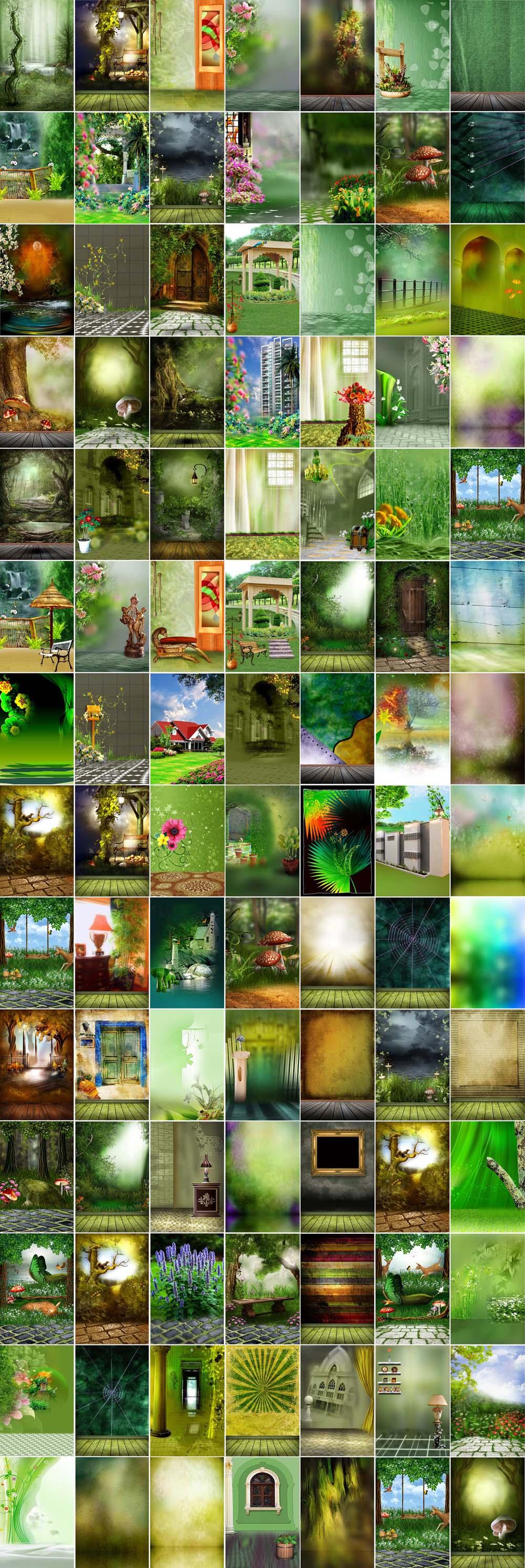 Indoor & Outdoor Studio Backgrounds HD