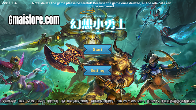 Download Fantasy Warrior Small MOD APK Terbaru