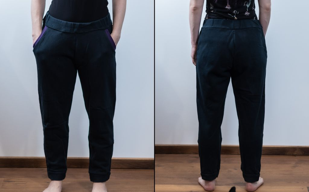 Minn's Things Hudson Pant sewing pattern true bias diy selfmade joggers review details