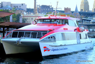 Captain Cook Cruise boat
