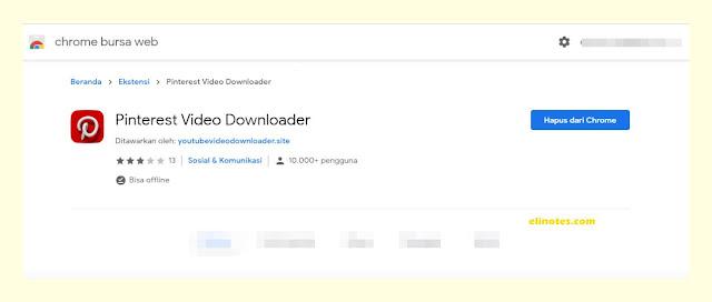 pinterest vidio downloader chrome extension