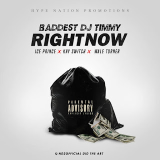 DOWNLOAD DJ Timmy  - Right Now Ft. Ice Prince, Kayswitch & Wale Turner mp3