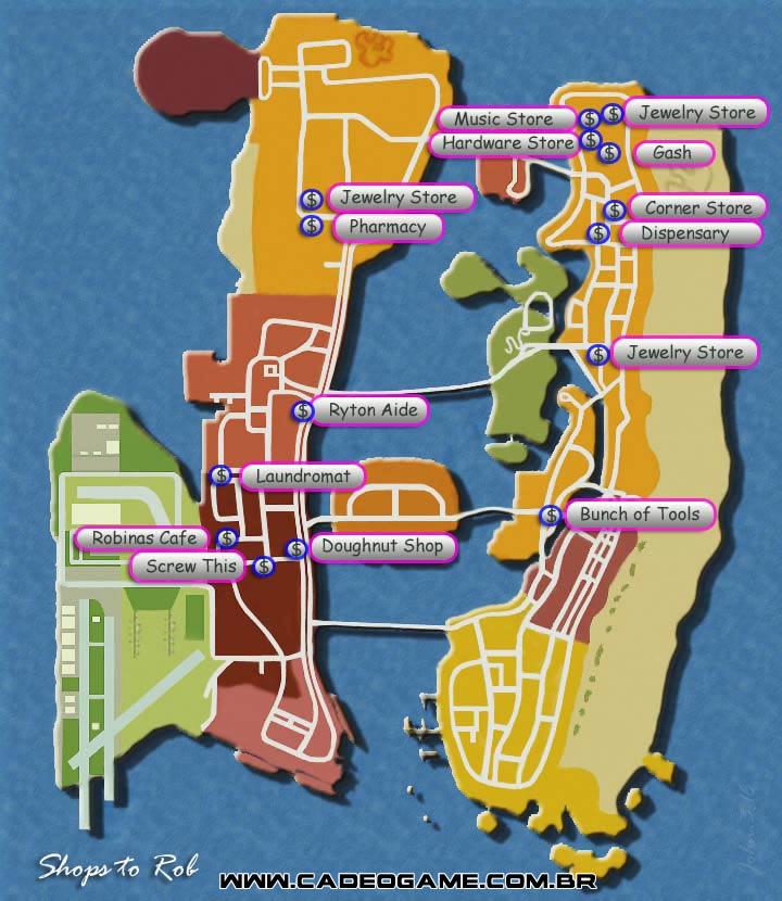 Vice City Map Properties Edit Jogos: Jul...