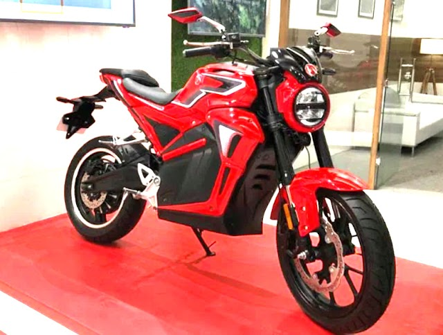 Hero electric launch her AE-47 first electric bike in india.