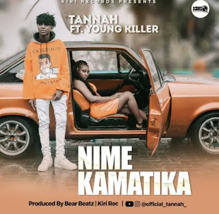DOWNLOAD AUDIO | Tannah ft Young killer - Nimekamatika mp3