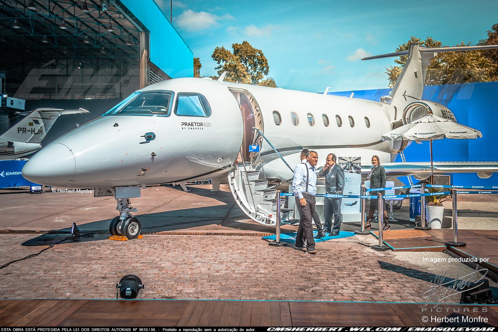 Embraer Praetor 600 | N603EE | Foto © Herbert Monfre - Contrate o fotógrafo em cmsherbert@hotmail.com | by É MAIS QUE VOAR | LABACE 2019
