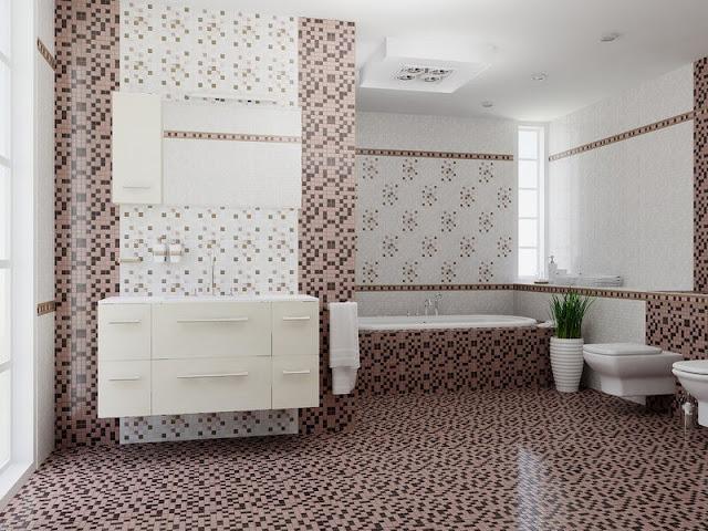 ванная комната с душевой в коттедже