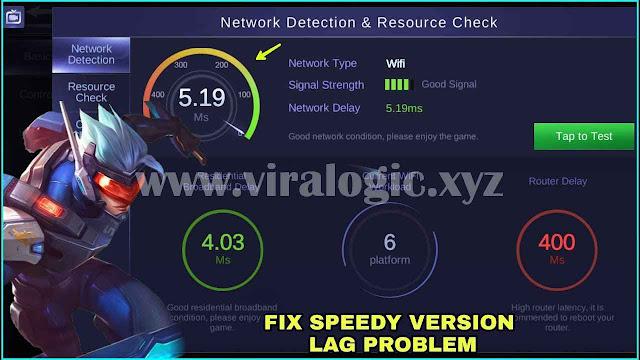 Script Low Ping dan Anti Lag Mobile Legends Speedy Version