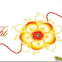 Happy Raksha Bandhan Status Images In Hindi Font