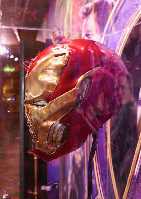 Avengers Endgame Damaged Iron Man Mark 50 helmet