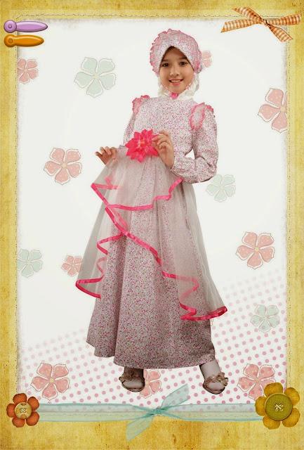 Contoh Baju Muslim Anak Perempuan Model Baru