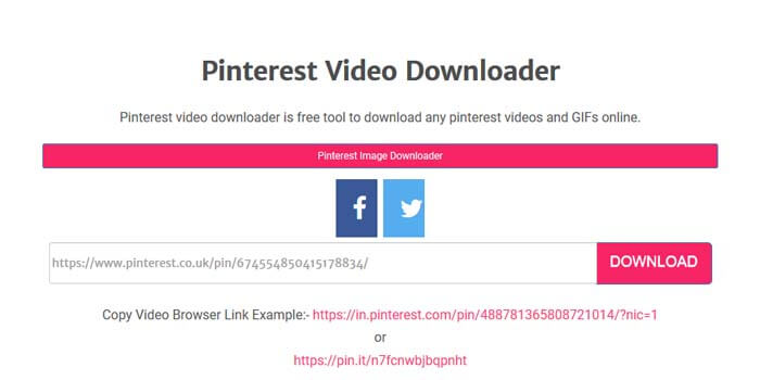 Download Video Pinterest Tanpa Aplikasi