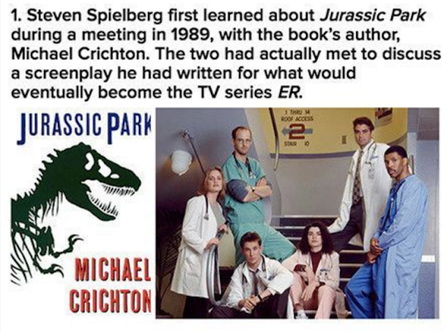 jurassic park facts