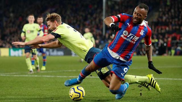 """Video Crystal Palace 1-0 Bournemouth: Thẻ đỏ gây sốc, """"Đại bàng"""" bay cao"""