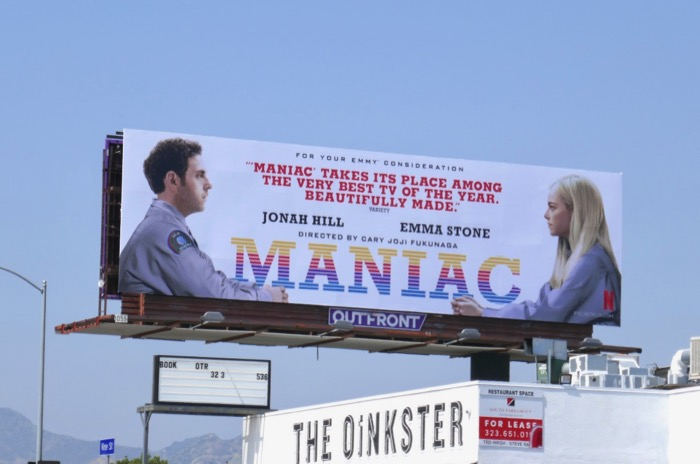 Maniac 2019 Emmy FYC billboard