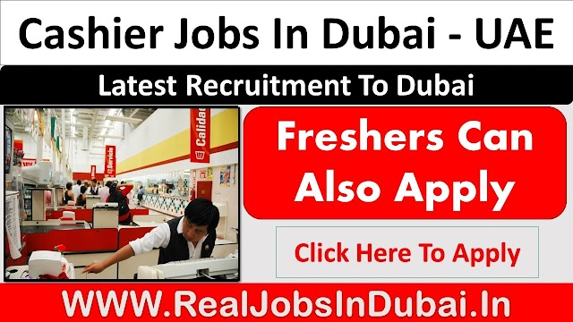 Cashier Jobs In Dubai, Abu Dhabi & Sharjah - UAE 2021