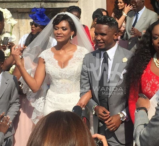 samuel etoo wedding pictures