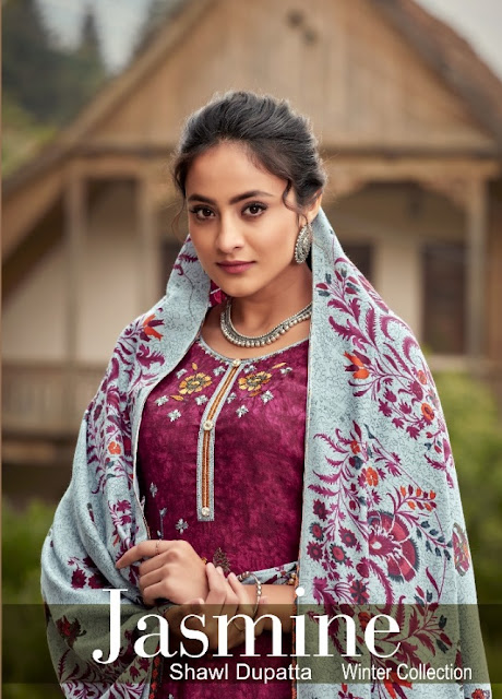 IB NX Jasmine Winter Salwar Kameez Collection Wholesaler