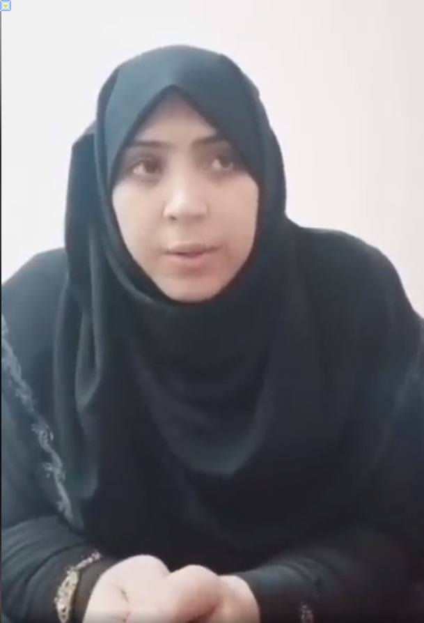 تغريد ترد على اتهام زوجها بشرفها فيديو