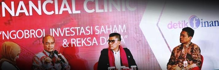 Financial Clinic di Balai Kartini Jakarta by OJK Hasil dari pertemuan OJK yang membahas tentang investasi dan reksadana