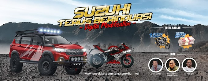 Suzuki SBAM Fatmawati Lomba Modifikasi Berhadiah Sepeda Motor Dan Uang Tunai