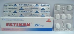 سعر ودواعي إستعمال دواء أستيكان Estikan أقراص مضاد للإكتئاب