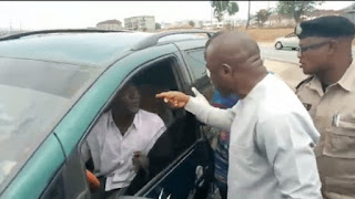 Coronavirus: Man who claims to be a soldier begs after being caught breaking lockdown order in Abuja by taskforce officials (video)