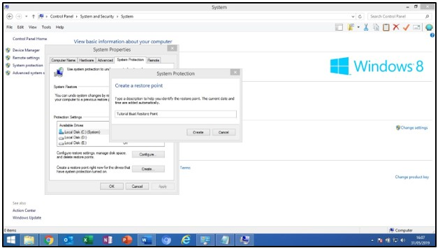 Cara Membuat System Restore Point di Windows