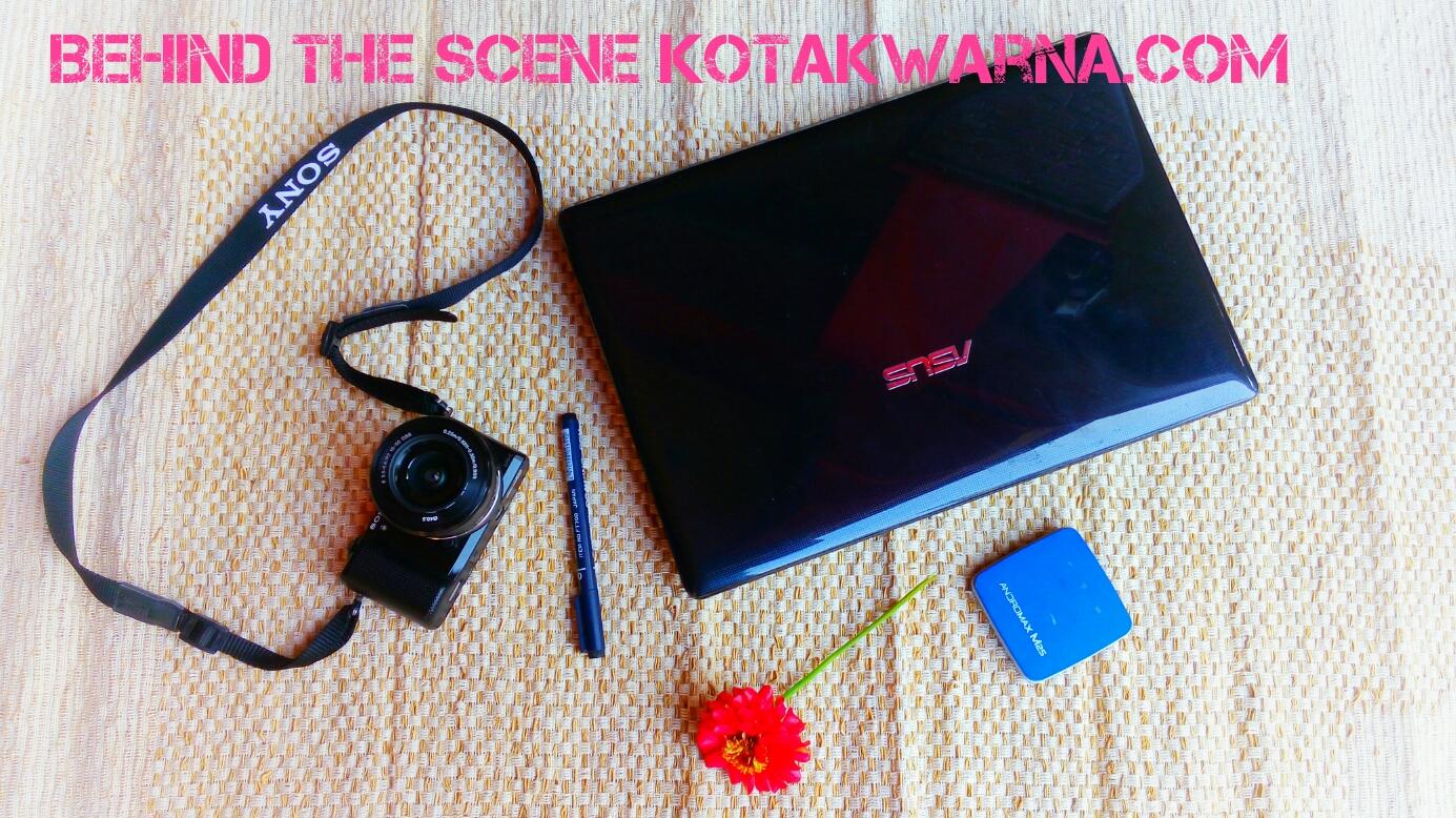 behind the scene kotakwarna