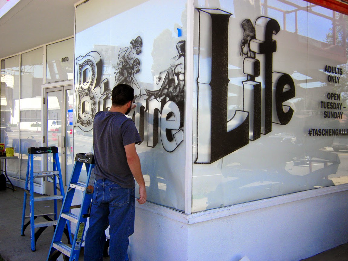 """The Eric Stanton (and Elmer Batters) """"Bizarre Life"""" exhibit at TASCHEN GALLERY, Los Angeles, CA"""