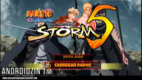 Naruto Shippuden Ultimate Ninja Strom 5 PPSSPP MOD