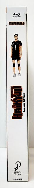 Reseña de Haikyu!! Los Ases del Voley temporada 3 Ed. Blu-Ray Coleccionista - Selecta Visión