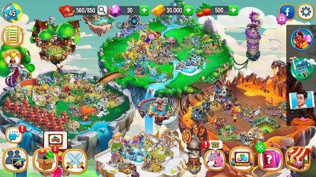Dragon City mod apk unlimited money