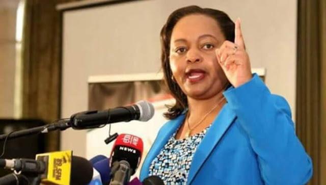 Kirinyaga Governor Anne Waiguru photos at the county assembly