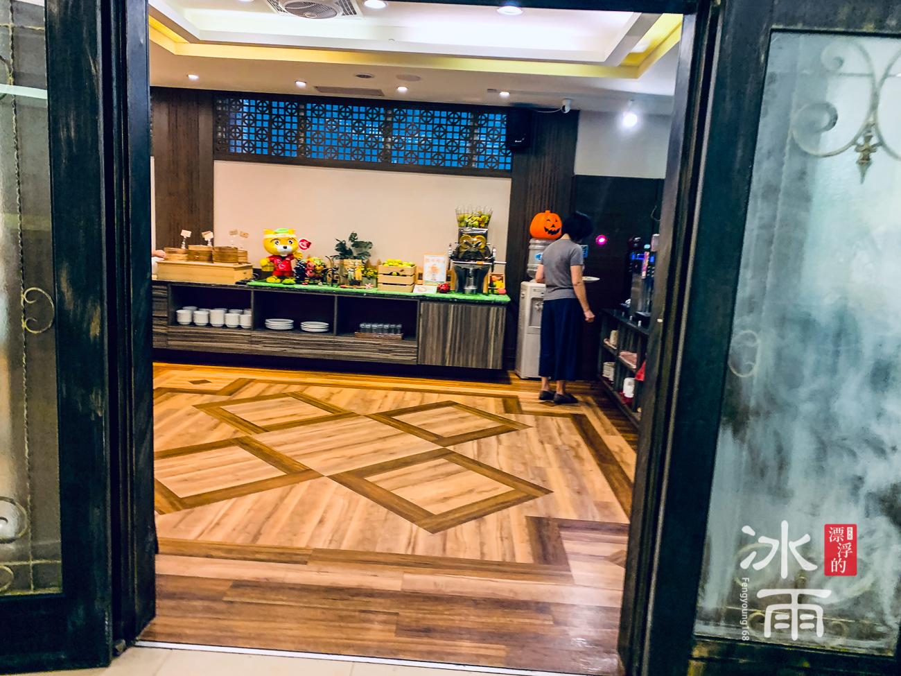 川湯春天溫泉飯店德陽館|早餐廳入口