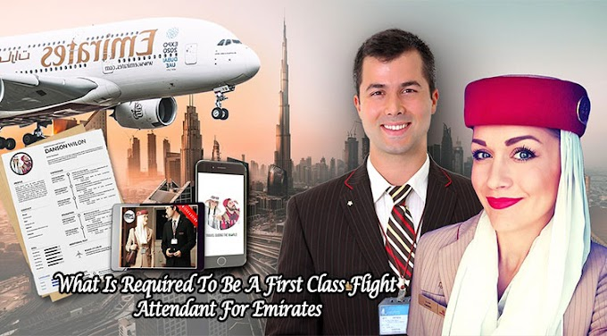 What Is Required To Be A First-Class Flight Attendant For Emirates
