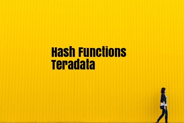hash functions in teradata