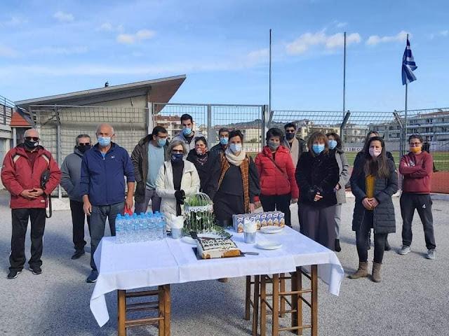 Στο ΔΑΚ Ναυπλίου έκοψαν την πίτα τους οι εργαζόμενοι του ΔΟΠΠΑΤ