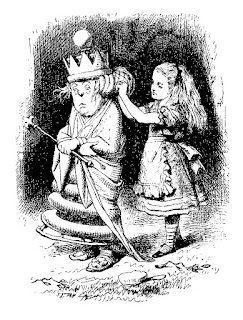 alice wonderland illustration white queen image digital